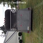 2006 Shoop Bumper Pull Horse Trailer