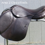 Custom Schleese Cool Jumping Saddle, 17.5 - Like New