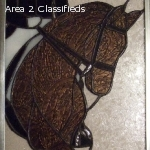 EQUIGLASequine stained glass