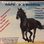 GAPS Coco Horse Bedding