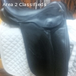 Used County Competitor Dressage Saddle