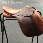 "Bates CAIR Easy-Fit 19"" Jumping Saddle"