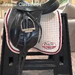 DG Stackhouse Monoflap Dressage Saddle