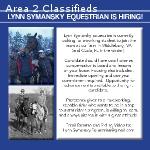 Join the Team at Lynn Symansky Equestrian!
