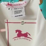 Prestige Girls Shirt sz 8-10 Med