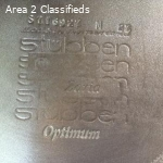 Virtually New Stubben Zaria Optimum Jump Saddle 17.5/27
